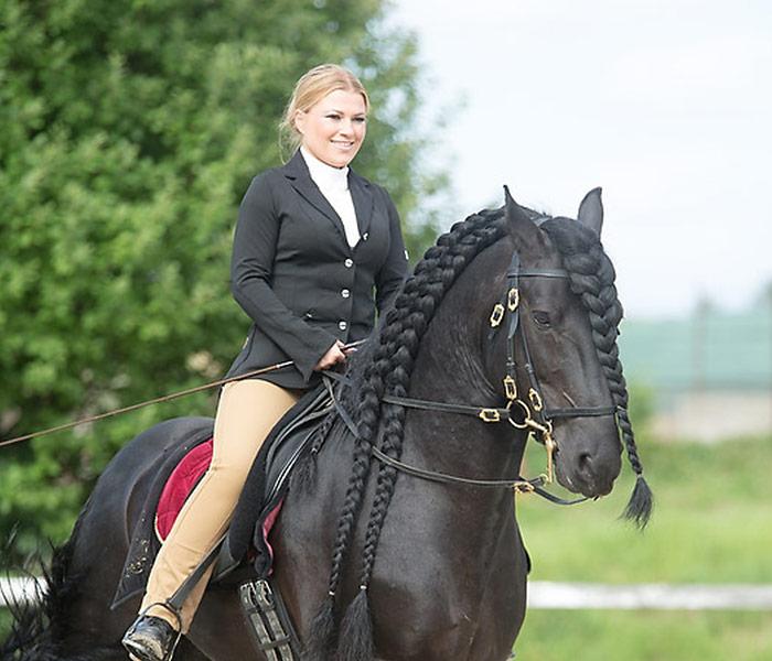 Besitzerin und Cotrainerin Corinna Denndörfer